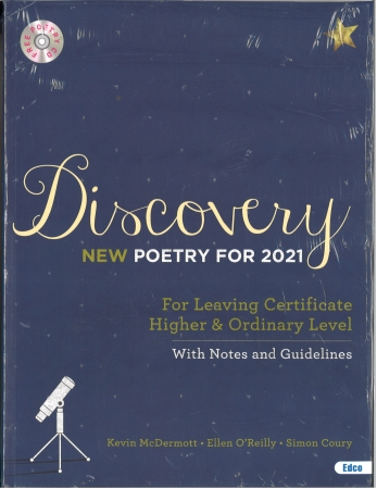 New Discovery 2021 Pack-Textbook & Student Portfolio-Poetry For Leaving Certificate Higher & Ordinary English,Includes Free EBOOK