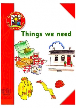 Things We Need - Information Book - Sunny Street - Junior Infants