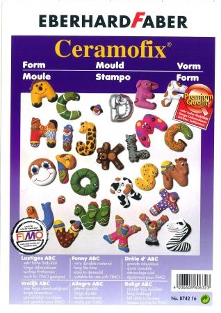 Ceramofix Mould Letters