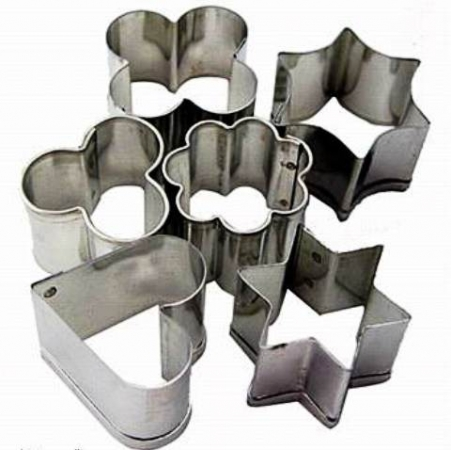 Fimo Cutters Metal