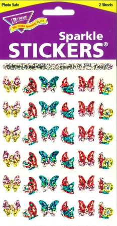 Stickers Brilliant Butterflies