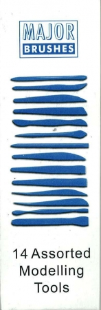 Modelling Tools Assorted Sizes 14 Pack