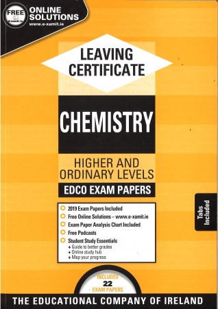 Leaving Cert Chemistry Higher & Ordinary Levels - Includes 2019 Exam Paper