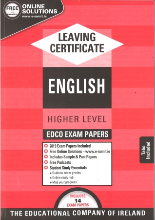 Leaving Cert English Higher Level - Includes 2019 Exam Papers