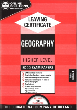 Leaving Cert Geography Higher Level - Includes 2019 Exam Papers