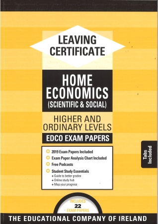 Leaving Cert Home Economics Higher & Ordinary Level - Includes 2019 Exam Papers