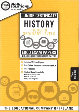 Junior Cert History Higher & Ordinary Level - Includes 2019 Exam Papers