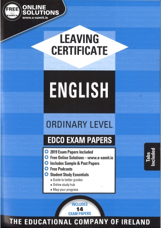 Leaving Cert English Ordinary Level - Includes 2019 Exam Papers
