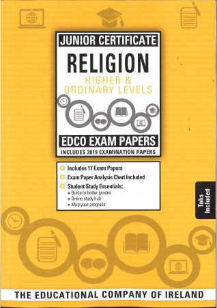 Junior Cert Religion Higher & Ordinary Levels - Includes 2019 Exam Papers
