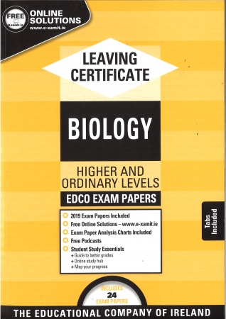 Leaving Cert Biology Higher & Ordinary Levels - Includes 2019 Exam Papers