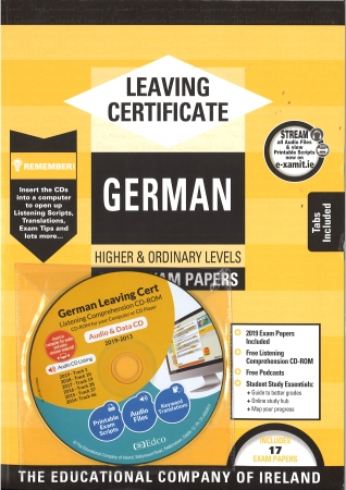 Leaving Cert German Higher & Ordinary Levels - Includes 2019 Exam Papers