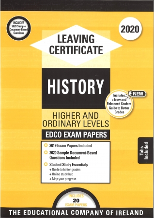 Leaving Cert History Higher & Ordinary levels - Includes 2020 Exam Papers