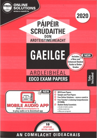 Leaving Cert Gaeilge Higher Level - Includes 2020 Exam Papers