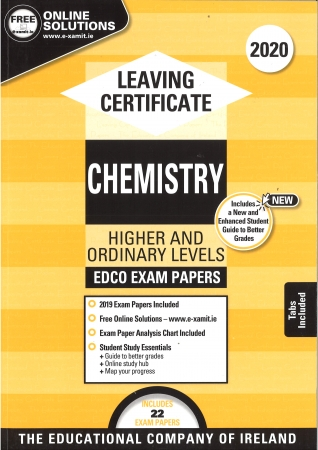 Leaving Cert Chemistry Higher & Ordinary Levels - Includes 2020 Exam Papers