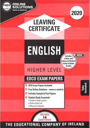 Leaving Cert English Higher Level - Includes 2020 Exam Papers