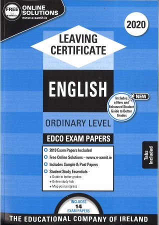 Leaving Cert English Ordinary Level - Includes 2020 Exam Papers