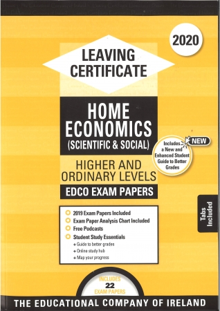 Leaving Cert Home Economics Higher & Ordinary Level - Includes 2020 Exam Papers