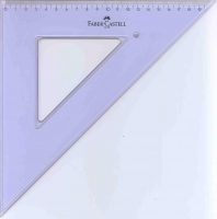 Faber-Castell Set Square 45 Degree