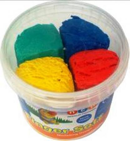 Finger Soft Modelling Dough 4 Colours