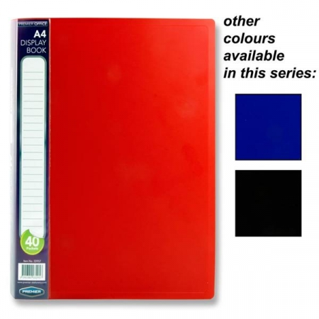 40 Pocket Display Book A4