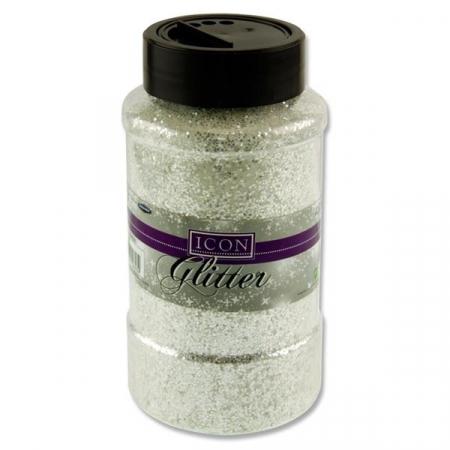 Glitter 450g - White