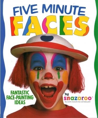 Snazaroo 5 Minute Faces Book