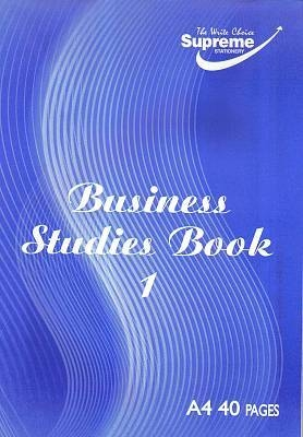 Business Studies Book 1 Cash 40 Page