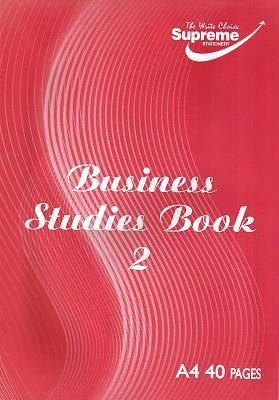 Business Studies Book 2 Journal 40 Page