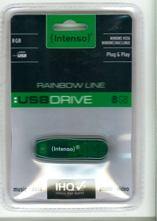 Memory Stick 8GB Intenso