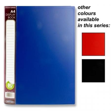 80 Pocket Display Book A4