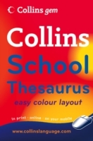 Collins Gem English School Thesaurus