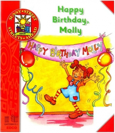 Happy Birthday Molly - Core Reader 1 - Sunny Street - Junior Infants
