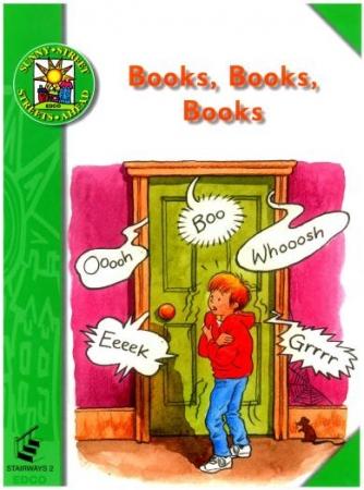 Books, Books, Books - Core Reader 2 - Sunny Street - First Class