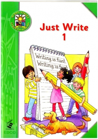 Just Write 1: Introduction to Joined Script & Cursive Writing - Sunny Street - First Class