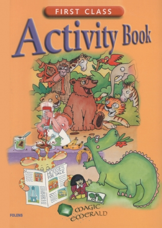 First Class Activity Book - Magic Emerald - First Class