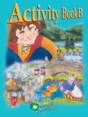 Activity Book B - Magic Emerald - Fourth Class