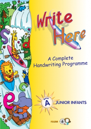 Write Here A - Junior Infants