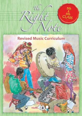 The Right Note 5th & 6th Class Activity Book - Fifth & Sixth Class