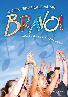Bravo Junior Certificate Music Pack - Textbook & Workbook - Junior Certificate Music