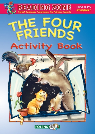 The Four Friends - Activity Book 2 - Reading Zone - First Class
