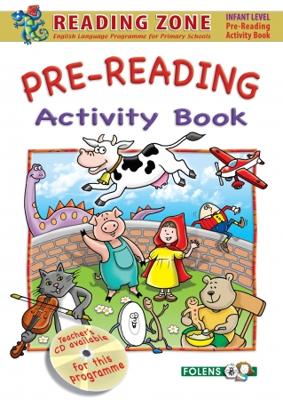 Pre-Reading Activity Book - Reading Zone - Junior Infants