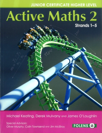 Active Maths 2 Junior Cert - Textbook & Activity Book - Strands 1-5 - Junior Certificate Project Maths