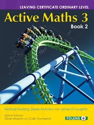 Active Maths 3 Book 2 - Textbook - Leaving Certificate Ordinary Level Project Maths For  2014 Exam & Onwards