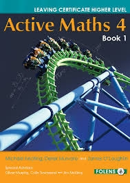 Active Maths 4 Book 1 Pack - Textbook & Activity Book - Leaving Certificate Higher Level Project Maths For  2014 Exam & Onwards