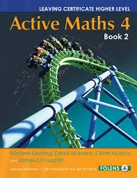 Active Maths 4 Book 2 - Textbook - Leaving Certificate Higher Level Project Maths For 2014 Exam & Onwards