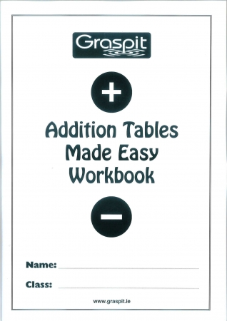 Addition Tables Made Easy Workbook