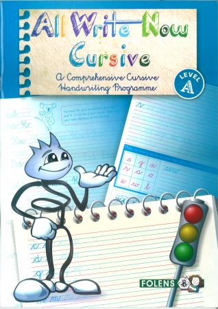 All Write Now A - A Comprehensive Cursive Handwriting Programme - Third Class