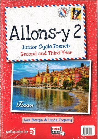 Allons-Y2 Junior Cycle French 2nd & 3rd Year Pack includes eBook