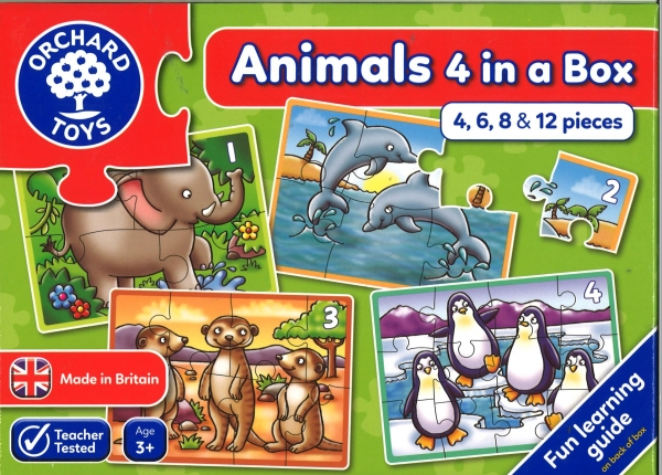 Animals 4 In A Box