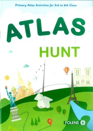 Atlas Hunt 3rd-6th Class Activity Book - 2nd Edition